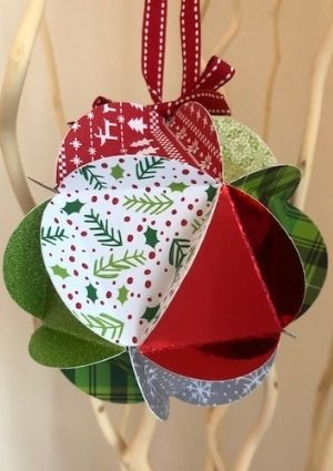 Christmas Paper Globes