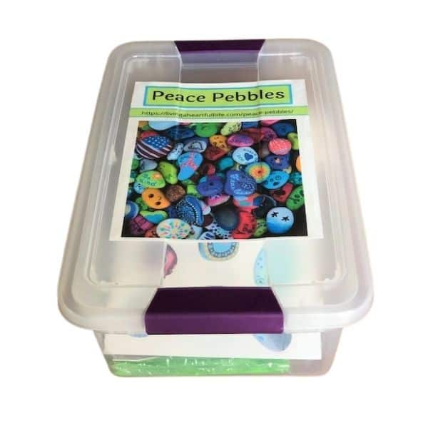 Box with Peace Pebbles Kit